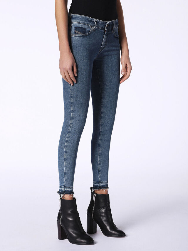 SLANDY-ANKLE-R 0699I, Blue jeans
