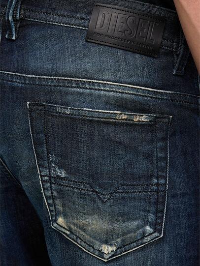 Diesel - Thommer JoggJeans 009KI, Dunkelblau - Jeans - Image 4
