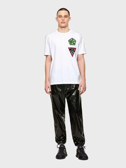 Diesel - T-JUBIND-SLITS-E1, Weiß - T-Shirts - Image 4