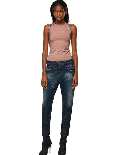 Diesel - Fayza JoggJeans® 09B50, Dunkelblau - Jeans - Image 5