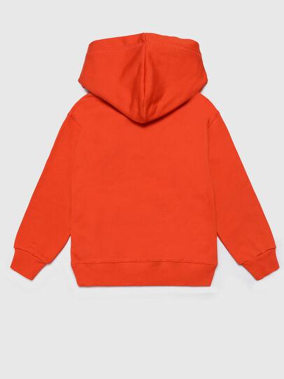 Diesel - SONELGET OVER, Orange - Sweatshirts - Image 2