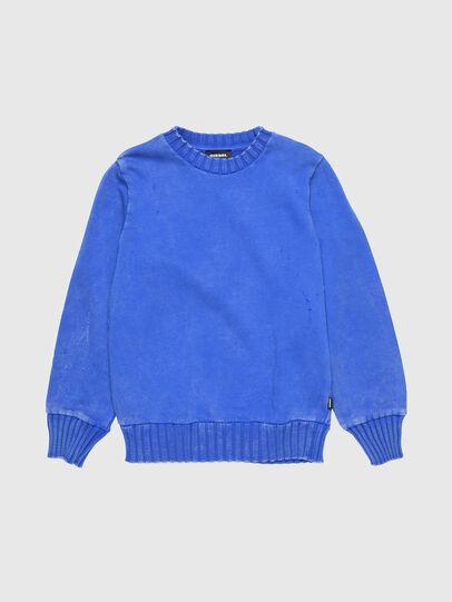 Diesel - SBAYZJ, Brillantblau - Sweatshirts - Image 1