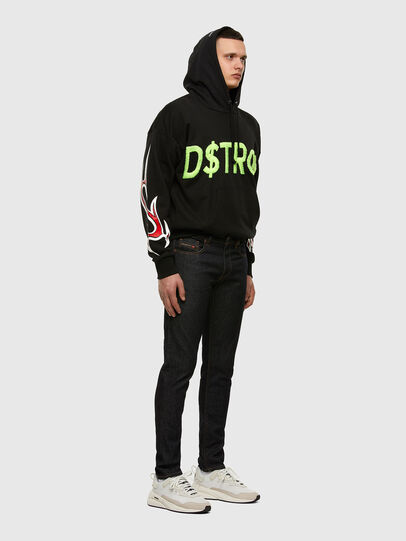 Diesel - D-Strukt 009HF, Dunkelblau - Jeans - Image 5