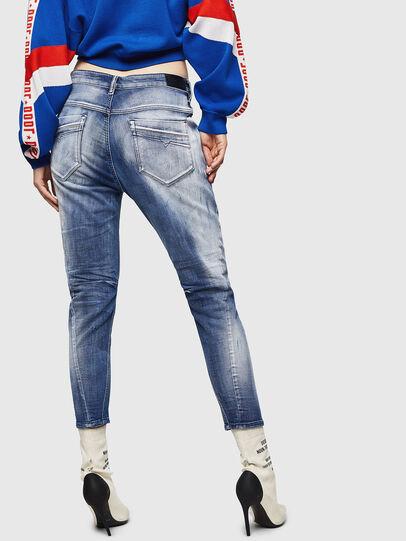 Diesel - Fayza JoggJeans 0870N, Mittelblau - Jeans - Image 2
