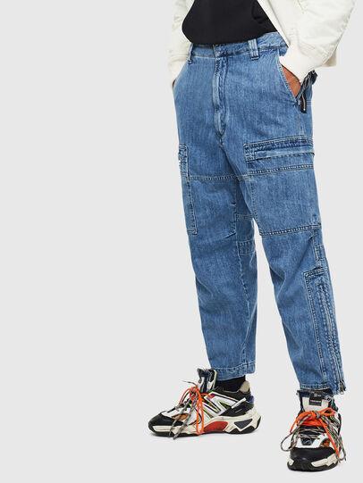 Diesel - D-Luks 009CL, Hellblau - Jeans - Image 6