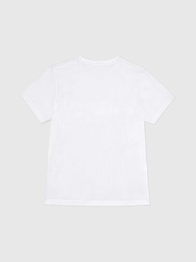 Diesel - BMOWT-DIEGO-NEW-P, Weiß - T-Shirts - Image 2