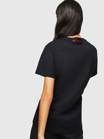 Diesel - LCP-T-DIEGO-TOKIO, Schwarz - T-Shirts - Image 4