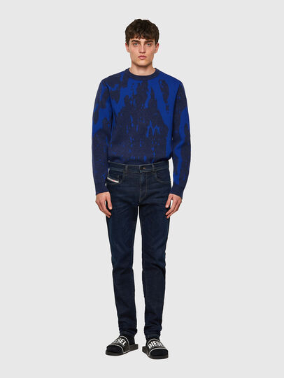 Diesel - D-Strukt JoggJeans® Z69VI, Dunkelblau - Jeans - Image 5