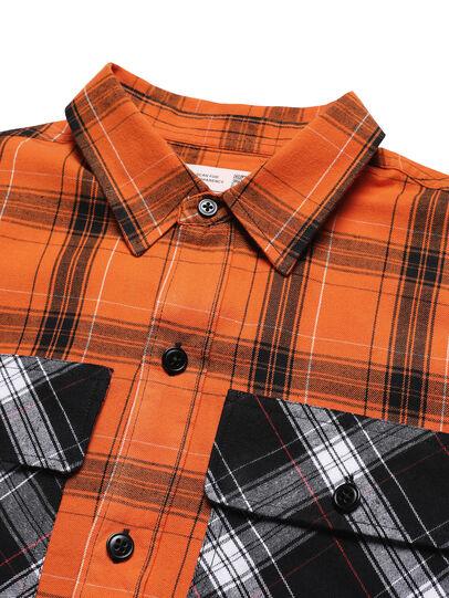 Diesel - D-ANORACHECK, Orange - Hemden - Image 3