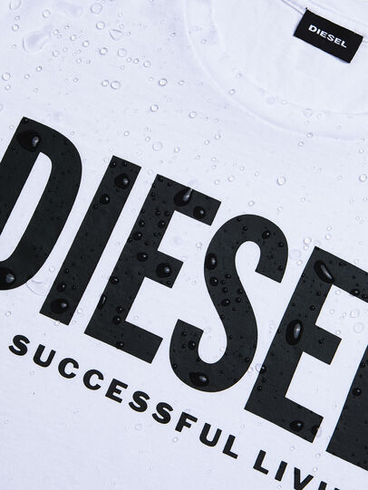 Diesel - T-DIEGO-LOGO, Weiß - T-Shirts - Image 4