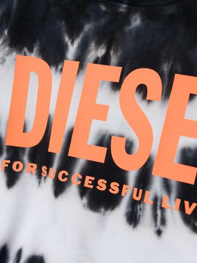 Diesel - TAREZB, Schwarz/Weiss - T-Shirts und Tops - Image 3