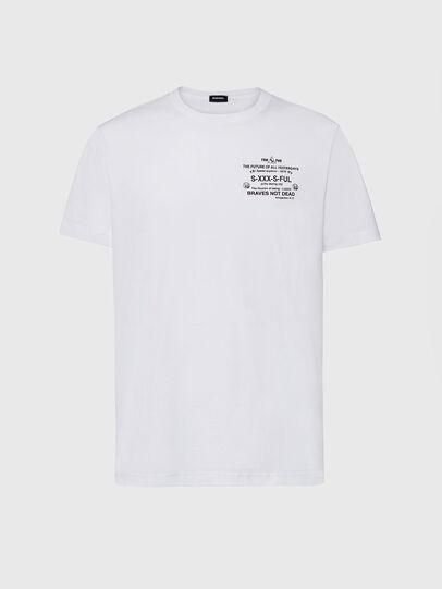 Diesel - T-DIEGOS-X44, Weiß - T-Shirts - Image 1
