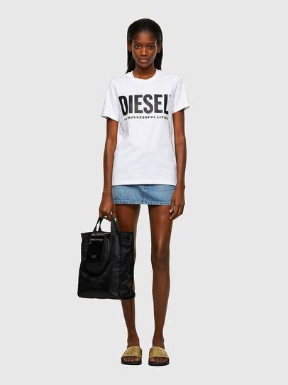 Diesel - T-SILY-ECOLOGO, Weiß - T-Shirts - Image 4