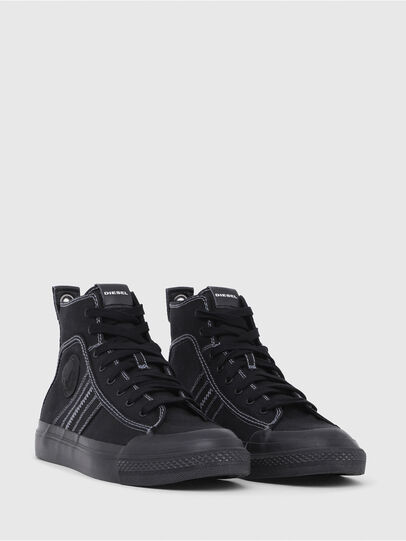 Diesel - S-ASTICO MID LACE, Schwarz - Sneakers - Image 2