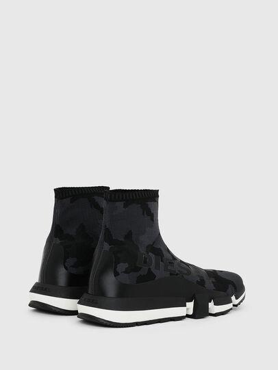 Diesel - H-PADOLA HIGH SOCK, Schwarz - Sneakers - Image 3