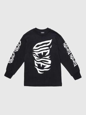 TJUSTLSJ2 OVER, Schwarz - T-Shirts und Tops