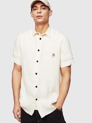 S-KIRUMA-B, Weiß - Hemden
