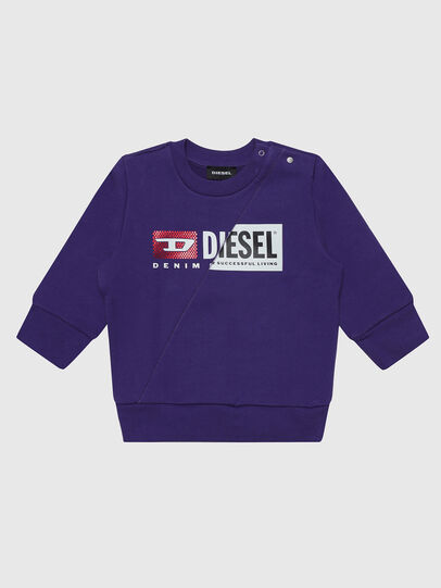 Diesel - SGIRKCUTYB-FL, Violett - Sweatshirts - Image 1