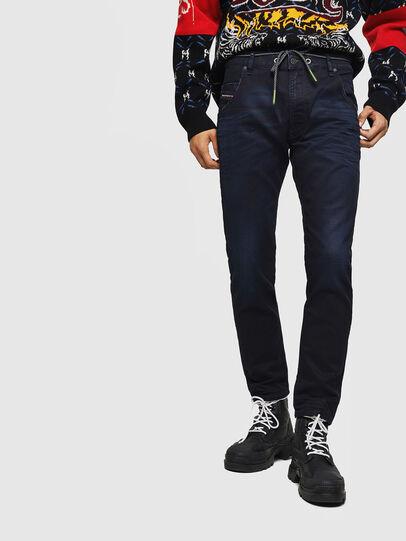 Diesel - Krooley JoggJeans 069IC, Dunkelblau - Jeans - Image 1