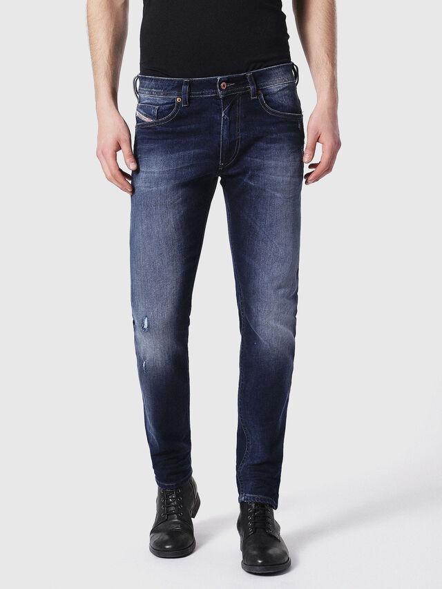 Diesel Thommer 0860L, Dunkelblau - Jeans - Image 2