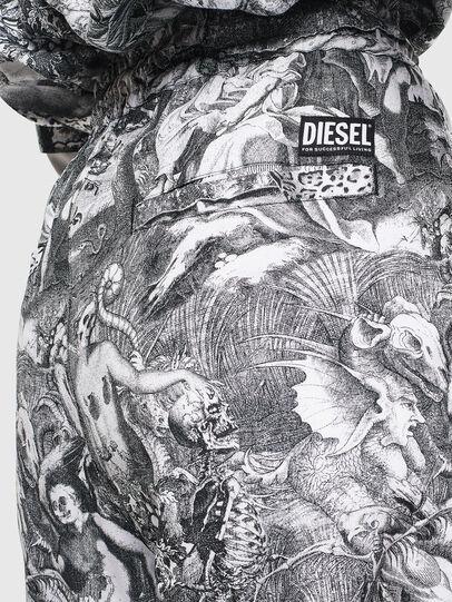 Diesel - P-TOLL-FL, Schwarz/Weiß - Hosen - Image 5