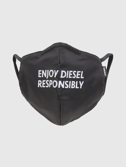Diesel - FACEMASK-ENJOY, Schwarz - Weitere Accessoires - Image 1