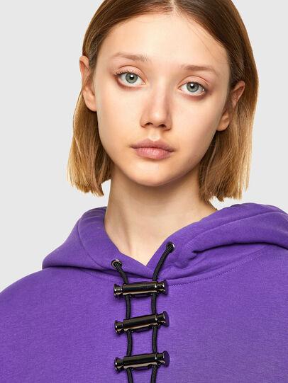 Diesel - F-RENTOL, Violett - Sweatshirts - Image 3