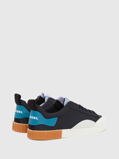 Diesel - S-BULLY LC, Schwarz/Blau - Sneakers - Image 3