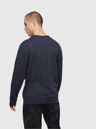 Diesel - UMLT-WILLY, Marineblau - Sweatshirts - Image 2