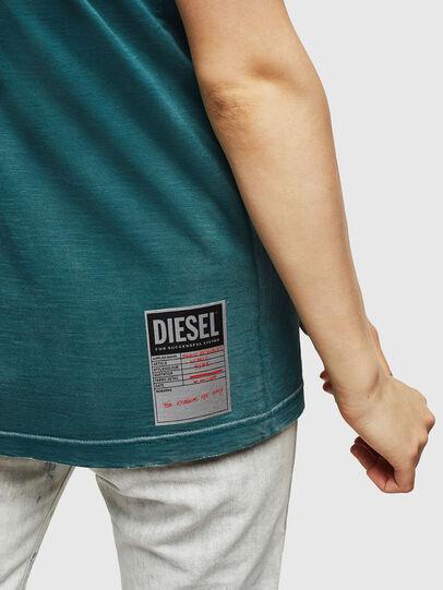Diesel - T-FLAVIA-IC, Blau - T-Shirts - Image 5
