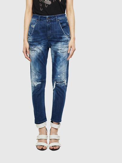 Diesel - Fayza JoggJeans 0099S, Dunkelblau - Jeans - Image 1