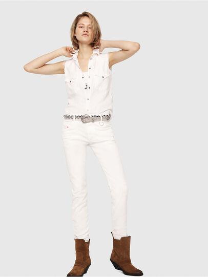 Diesel - Krailey JoggJeans 069DS, Weiß - Jeans - Image 4