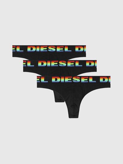 Diesel - UMBR-STRINGTHREEPACK, Schwarz - Slips - Image 1