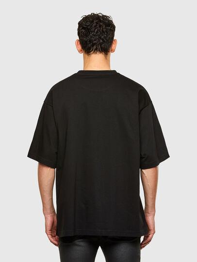 Diesel - T-BALL-A1, Schwarz - T-Shirts - Image 2