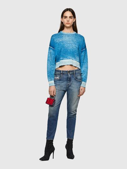 Diesel - Fayza 09A08, Mittelblau - Jeans - Image 5