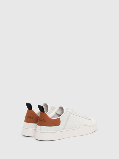 Diesel - S-CLEVER LOW LACE, Weiß/Braun - Sneakers - Image 3