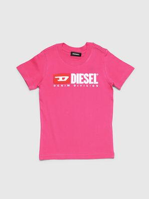 TJUSTDIVISIONB-R, Fuchsie - T-Shirts und Tops