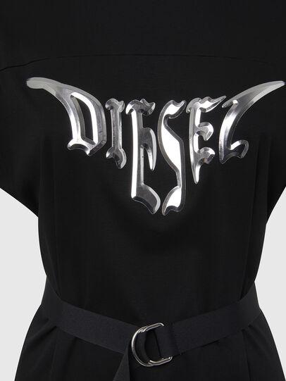 Diesel - D-FLIX-C, Schwarz - Kleider - Image 4