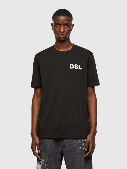 Diesel - T-JUST-E10, Schwarz - T-Shirts - Image 1