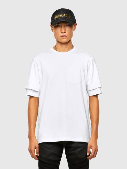 Diesel - T-FONTAL, Weiß - T-Shirts - Image 1