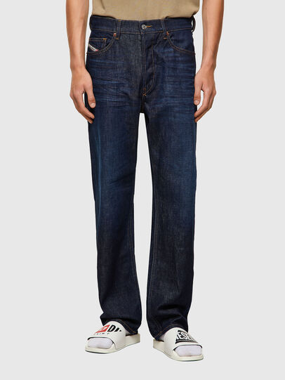Diesel - D-Macs 09A12, Dunkelblau - Jeans - Image 1