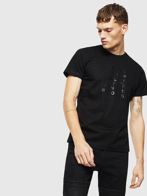 T-DIEGO-J8, Schwarz - T-Shirts