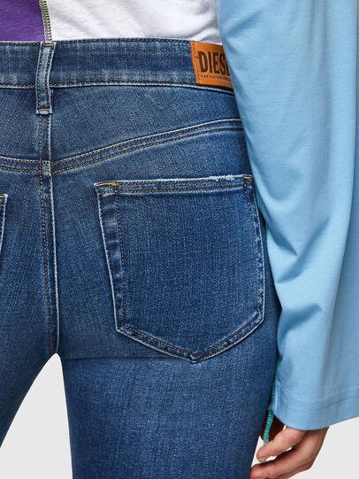 Diesel - Slandy 009PU, Mittelblau - Jeans - Image 4