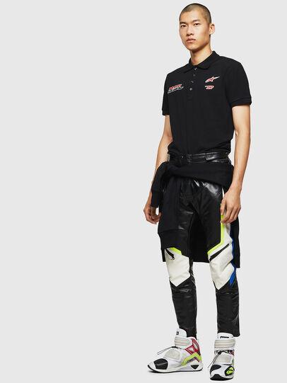 Diesel - ASTARS-T-NIGHT-NEW, Schwarz - T-Shirts - Image 6