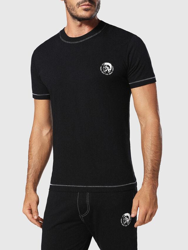 Diesel - UMLT-JAKE, Schwarz - T-Shirts - Image 1