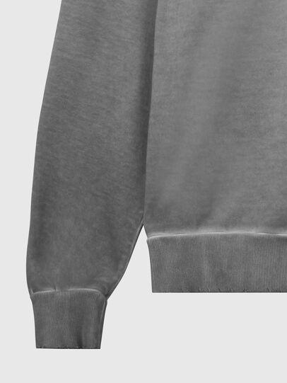 Diesel - S-GIR-HOOD-DIVISION-, Grau - Sweatshirts - Image 4