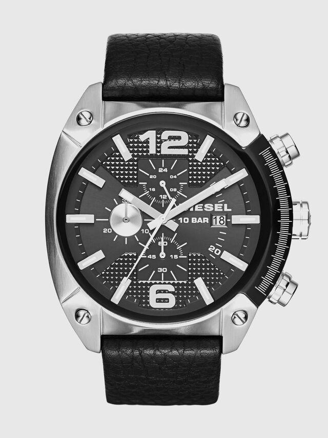 Diesel - DZ4341 OVERFLOW, Schwarz - Uhren - Image 1