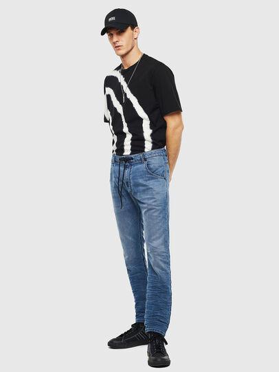 Diesel - Krooley JoggJeans 069MA, Mittelblau - Jeans - Image 7