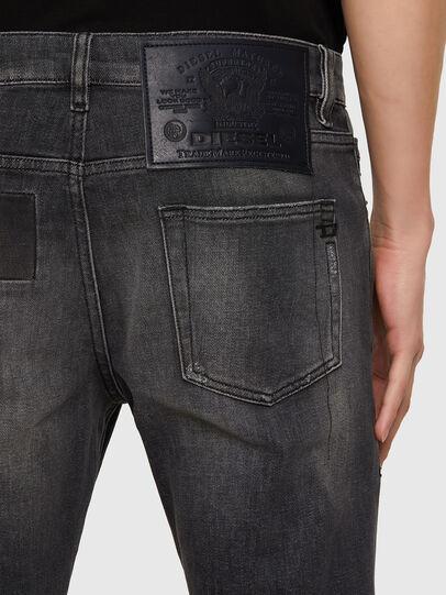 Diesel - D-Strukt 009MZ, Schwarz/Dunkelgrau - Jeans - Image 3