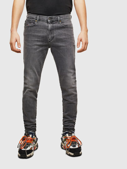 Diesel - D-Amny 009AJ, Schwarz/Dunkelgrau - Jeans - Image 1